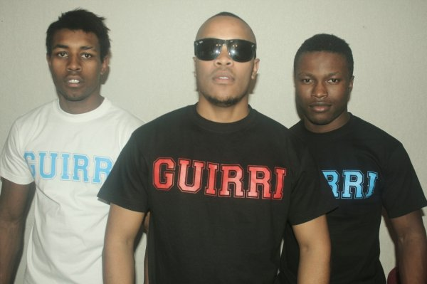 Nouvelle collection tee shirt GUIRRI disponible sur 'sapofficiel.com'